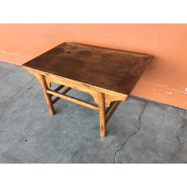 Asian Vintage Chinese Low Table For Sale - Image 3 of 8