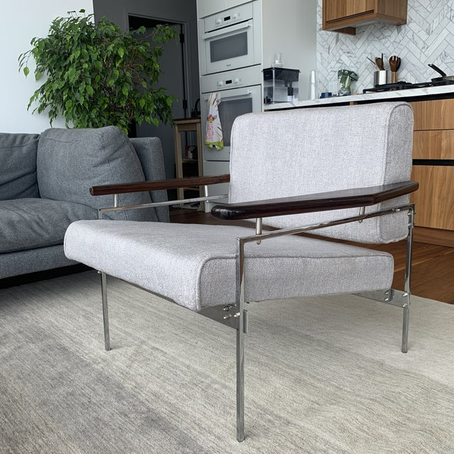 """1960s Sergio Rodrigues """"Beto"""" Chair For Sale - Image 5 of 6"""