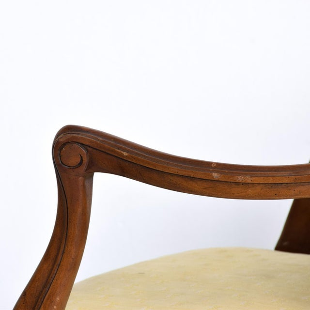 Hollywood Regency Arm Chairs by Kindel - a Pair For Sale - Image 10 of 11