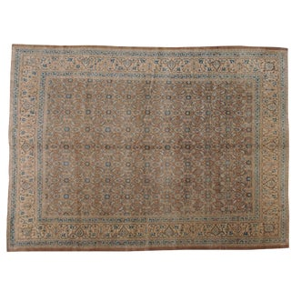 "Vintage Persian Mahal Rug - 10'1"" X 13'11"" For Sale"