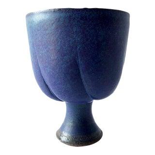 Henry Gernhardt Stoneware American Modern Chalice Form For Sale