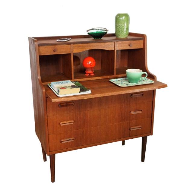 Danish Secretary Desk / Dresser - Image 3 of 8