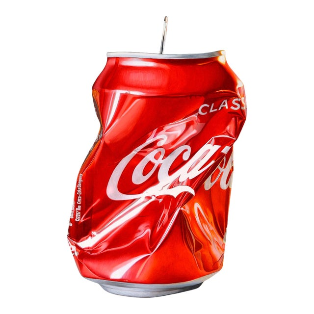 """""""Coca Cola"""" Drawing Limited Edition Giclée Print by Jack Verhaeg For Sale"""