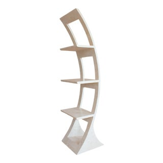 Tessellated Stone Shelving Unit For Sale