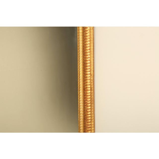 French Antique French Gilded Mirror For Sale - Image 3 of 9