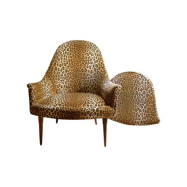 Sculptural Mid Century Danish Modern Chair - Image 1 of 9