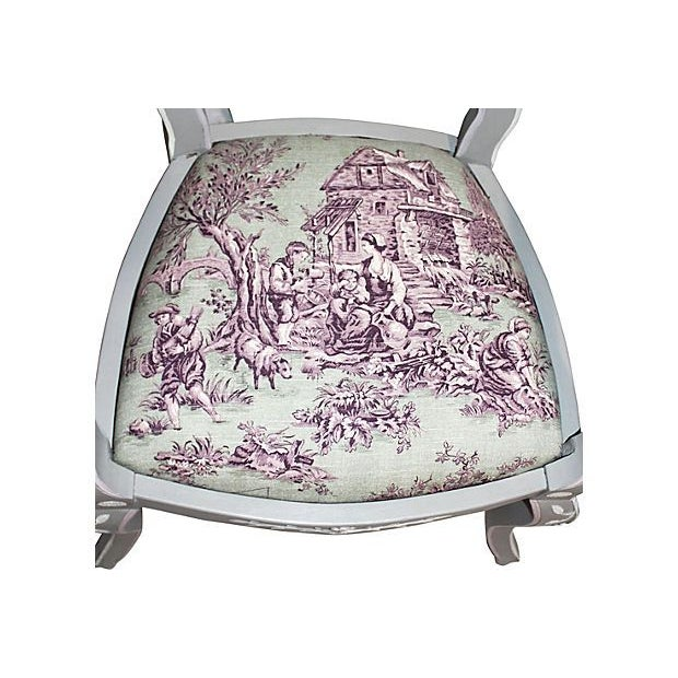 French Country Armchairs - A Pair - Image 6 of 7