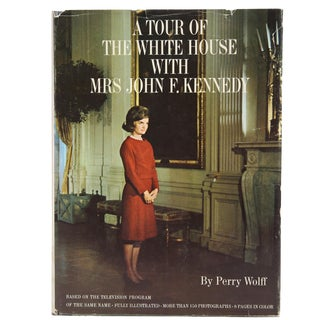 "1962 ""Tour of the White House With Mrs. John F. Kennedy"" Coffee Table Book For Sale"