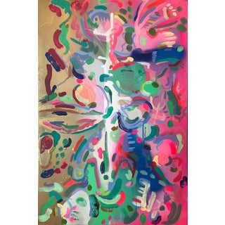 Anne Harper Color Dance Abstract Painting For Sale