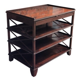 Rose Tarlow Mahogany Bookstand/Nightstand For Sale