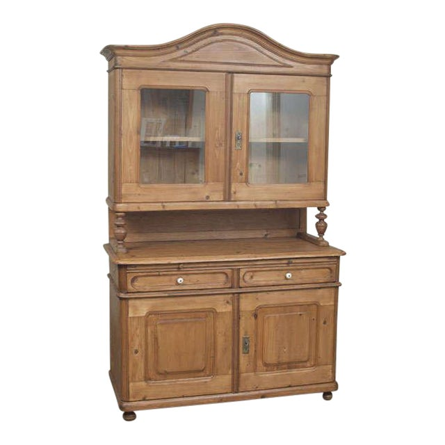 Baroque Style Pine Buffet For Sale