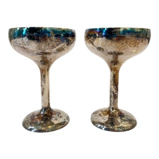 W&S Blackinton Silver Coupes - a Pair For Sale