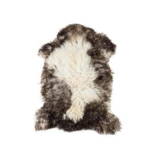 """Contemporary Natural Sheepskin Pelt - 2'3""""x3'2"""" For Sale"""
