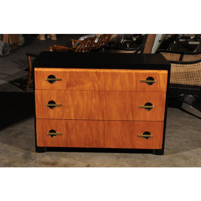 Magnificent Restored Streamline Moderne Commode by John Stuart, circa 1935 For Sale - Image 10 of 13