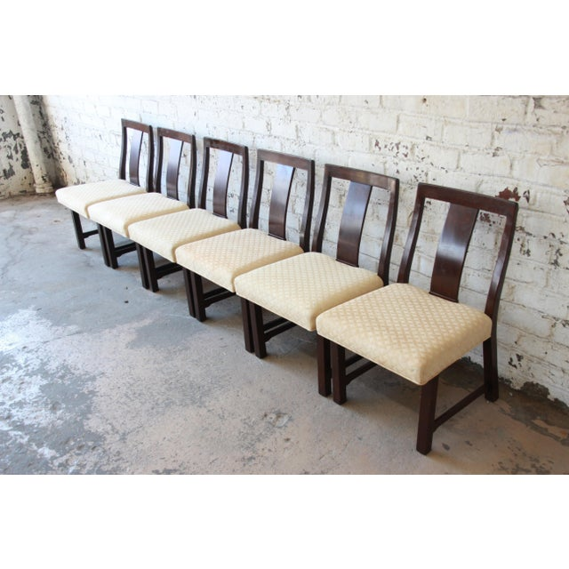 1950s Edward Wormley for Dunbar Mid-Century Modern Dining Chairs, Set of 16 For Sale - Image 5 of 13