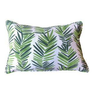 Lulu Dk Fern Lumbar Pillow For Sale