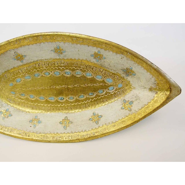 Florentine Gilt Wood Fish Tray - Image 3 of 7