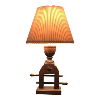 Vintage 1960s Tell City Lamp