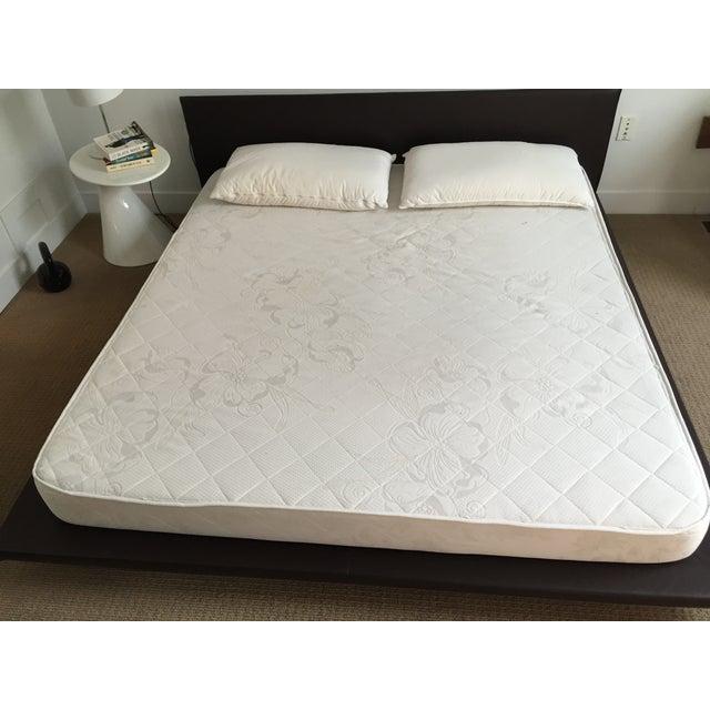 King Size Leather Platform Bed - Image 8 of 9