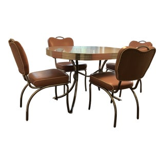 Retro 1950 Dinette Set For Sale