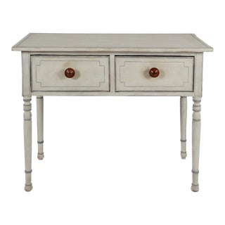19th Century Country Painted Pine Side Table For Sale