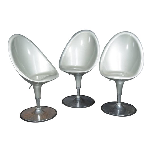 Postmodern Bar Stools- Set of 3 For Sale