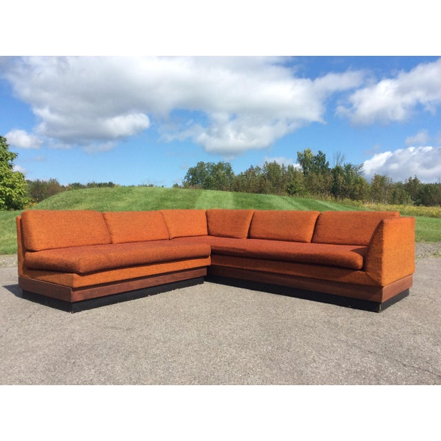Adrian Pearsall Sectional Sofa Craft Associates For Sale In New York - Image 6 of 11