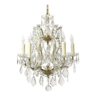 Five Light Petite Maria Theresa Chandelier