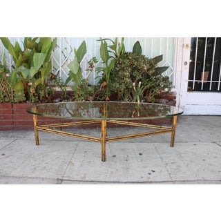 Metal Bamboo Base Coffee Table Preview