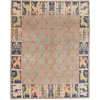 Mansour Original Handmade Modern Tibetan Rug Preview