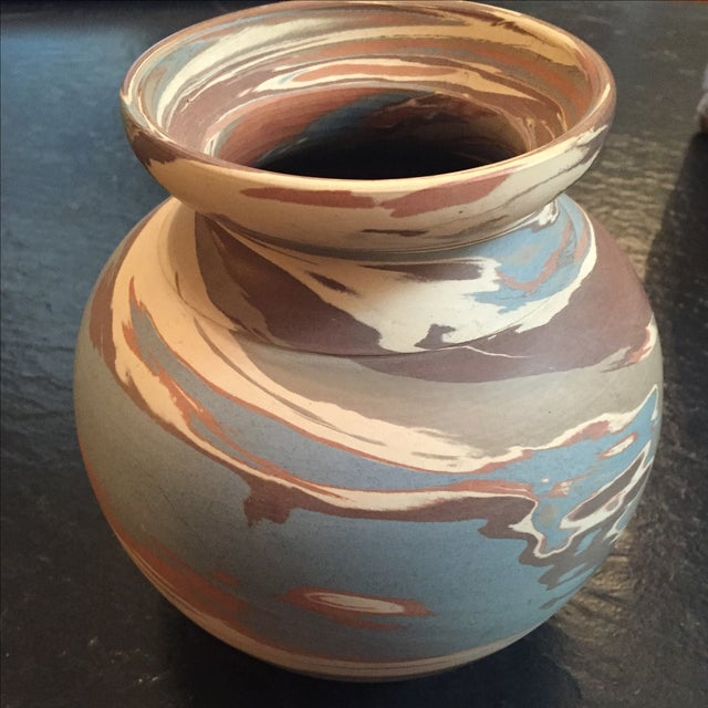 Niloak Mission Swirl Pottery Vase - Image 3 of 6