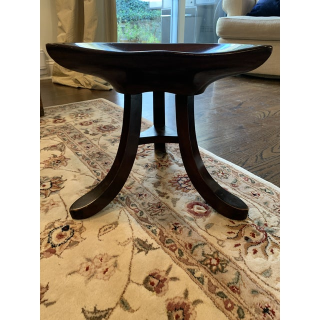 Modern 20th Century Adolf Loos Manner Stool For Sale - Image 3 of 5
