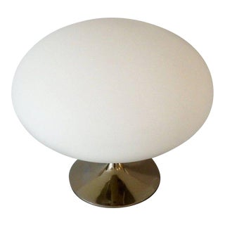 Italian Glass Globe Laurel Table Lamp For Sale