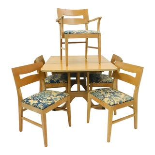 Vintage Mid-Century Dining Set For Sale