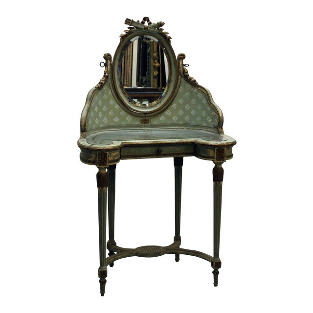 Vintage Victorian Vanity Dressing Table - Image 1 of 2