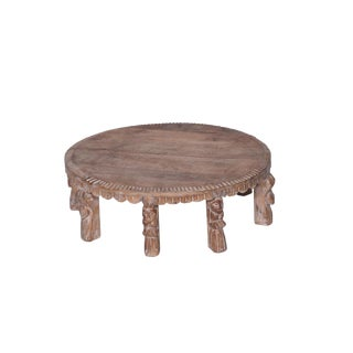 Mid-Century Modern Style Aubin Wooden Bajot Table For Sale