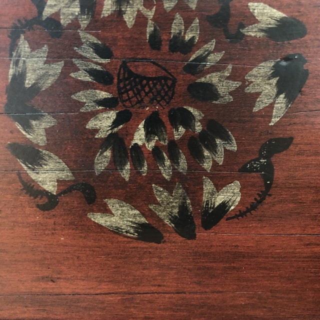 Animal Skin Traditional Hooker Furniture Living Room Dynasty Box on Stand For Sale - Image 7 of 13