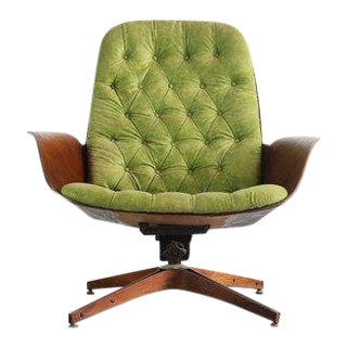 1960s Mid Century Modern Plycraft by George Mulhauser Mr. Chair For Sale