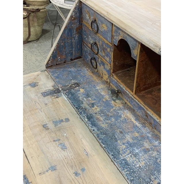 Shabby Chic Swedish Style Secretary Desk For Sale In Atlanta - Image 6 of 7