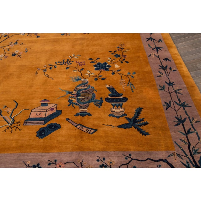 "Apadana Chinese Art Deco Rug - 10' X 13'6"" - Image 5 of 7"