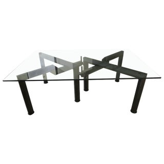 Monumental Dining Table Base by Bruno Rota For Sale