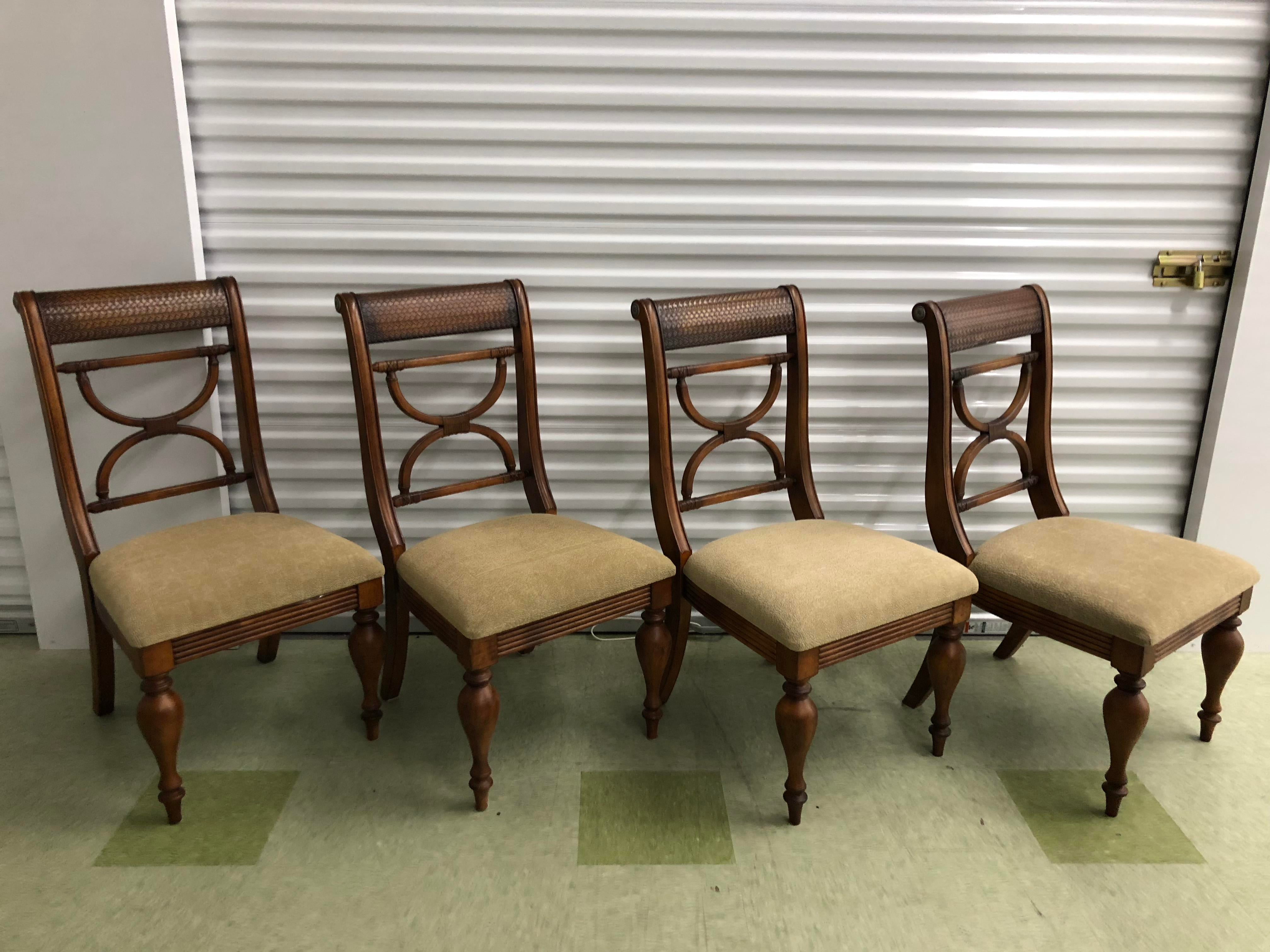 2000s Traditional Ethan Allen Tommy Bahama Dining Set   5 Pieces For Sale    Image 5