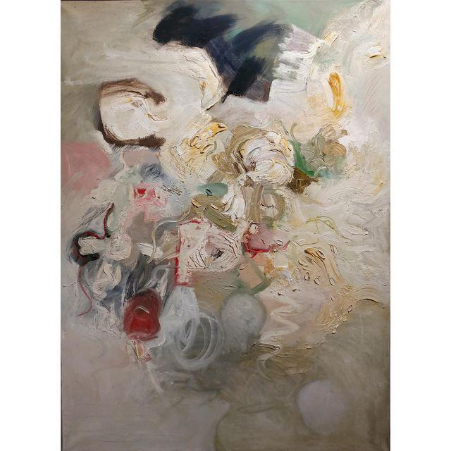 1960s Joan Jacobs - 1959 Abstract Oil Painting For Sale - Image 5 of 11