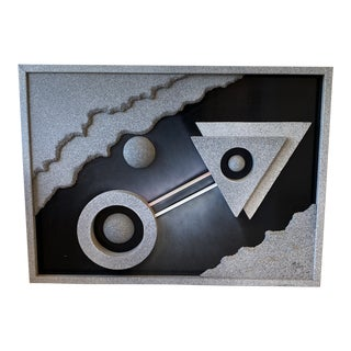 Jon Gilmore for Accessory Art Postmodern Collage Sculpture For Sale
