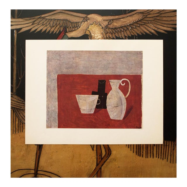 "1947 André Derain Original Period ""Still Life"" Lithograph For Sale"