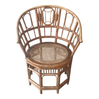 1920s Vintage Bamboo Chair For Sale