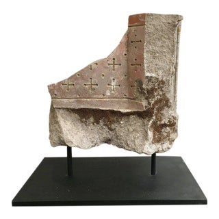 18th C. Model Building Fragment on Stand - Small For Sale