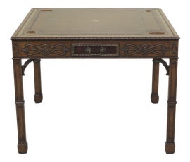 Image of Chippendale Card and Game Tables