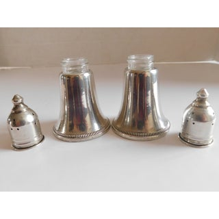 Sterling Vintage Crosby Weighted Salt & Pepper Shakers - a Pair Preview