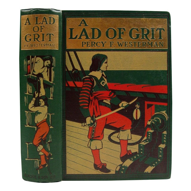 A Lad of Grit Book 1908 - Image 1 of 4